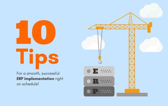 10 bước giúp CEO doanh nghiệp triển khai ERP thành công