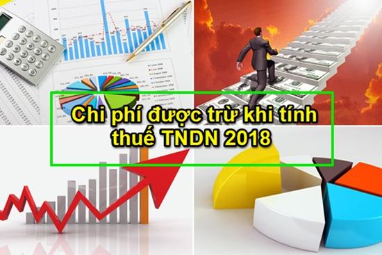 Điều chỉnh điều kiện ghi nhận chi phí xác định thu nhập chịu thuế TNDN khi quyết toán thuế năm 2018